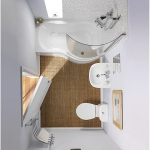 bathroom-small-bathroom-remodels-design-ideas-fake-wooden-floor-with-bathtub-shower-and-small-faucet-with-mirror-with-white-wall-color-room-small-